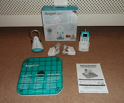 Angelcare Ac401 Movement & Sound Baby Monitor With Breathing Sensor Pad