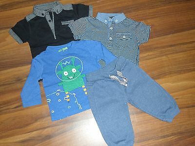 Baby boys bundle 3 tops from Next 1 pair joggers F&F all age between 6-12 months