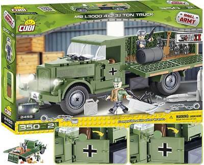 COBI 2455 - Deutsches LKW Mercedes-Benz L3000  - WWII Small Army Bausteine