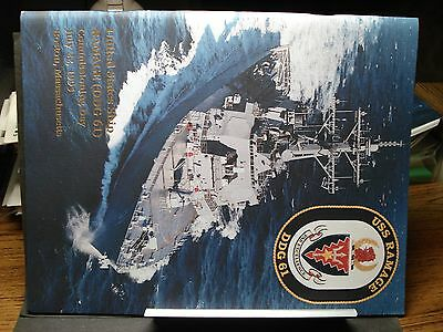 USS RAMAGE DDG-61 Naval COMMISSIONING Program abt 32 pages 1995