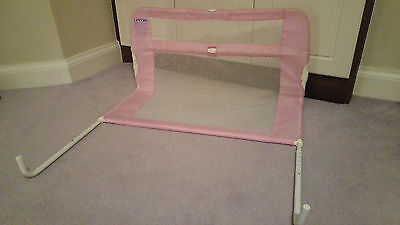 Lindam pink bed guard, Safety Rail