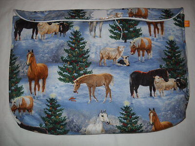Breyer oversize traditional classic custom model horse fabric pouch pocket