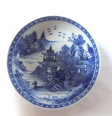 Antique Chinoiserie Small Dish, Bowl. Possibly Early Worcester.