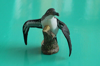 Kaiyodo Choco Q Series 6 Japan Sea Bird Toy Model Streaked Shearwater Figure