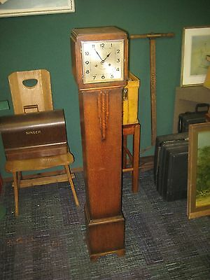 ART DECO  1930's 1940's wurttenburg Grandmother CLOCK - SOLD FOR SPARES