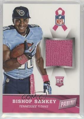 2014 Panini Black Friday Breast Cancer Awareness Materials #4 Bishop Sankey Card