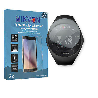 2x Mikvon Armor Screen Protector for Polar M200 Retail Package with accessories