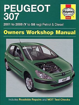 Peugeot 307 2001 to 2008 Haynes Manual