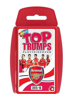 Top Trumps Specials 2015/2016 Arsenal Fc Football Club Card Game