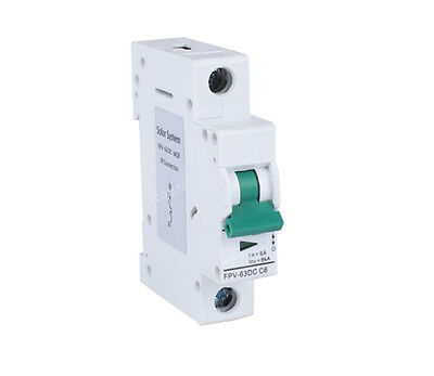 Solar 1P DC MCB supplementary protector dc circuit breaker 250V 1p