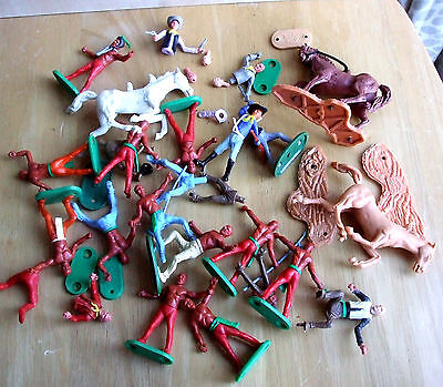 Vintage Cherilea Swoppet Style Toy Soldiers Job Lot