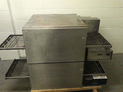 Lincoln Impinger  Double Stack Pizza Conveyor Ovens 1132-08H-A TESTED