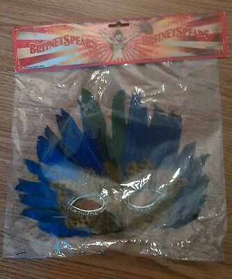 Britney Spears 2009 Face Mask Mint in package