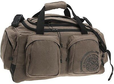 Le Routard by BAGTROTTER Convertible Travel Duffle BAG - Canvas + FREE ITEM