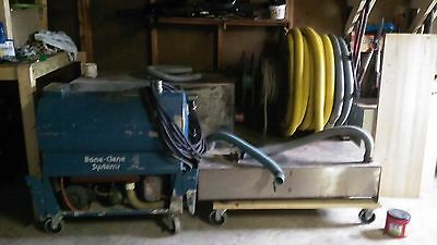 Carpet Cleaning Equipment / Bane Clene Maxi Mount / Carpet Cleaning Machine