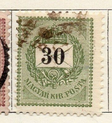 Hungary 1898 Early Issue Fine Used 30kr. 098740