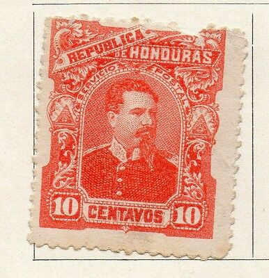 Honduras 1891 Early Issue Fine Mint Hinged 10c. 098869