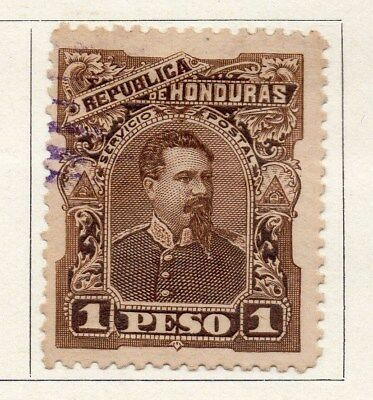Honduras 1891 Early Issue Fine Used 1P. 098871
