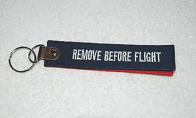 Air France Airways Airline Hop Remove Before Flight Keyring (Two Joined) New