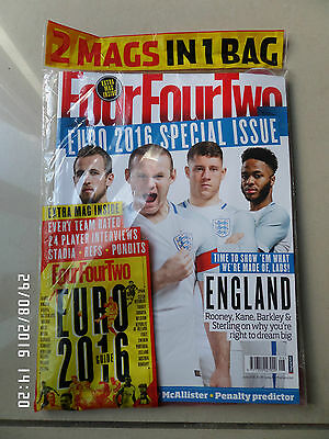New Sealed Four Four Two Magazine June 2016 Euro Special Issue