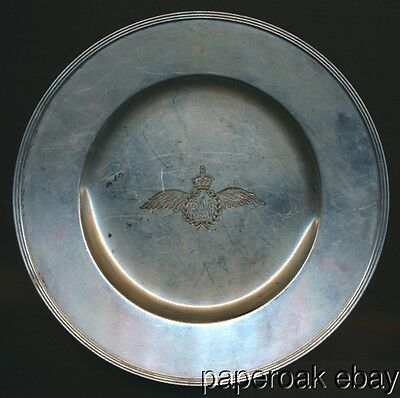 Christmas 1940 Royal Air Force Gorham Sterling Silver Plate
