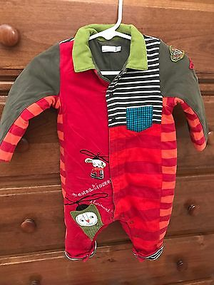 Catimini Romper Baby Boy Toddler Size 12 Months  74 Adorable HTF