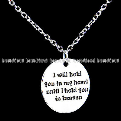 New Fashion Lover Gifts Silver Carved Words Pendant Chain Bib Necklace Jewelry