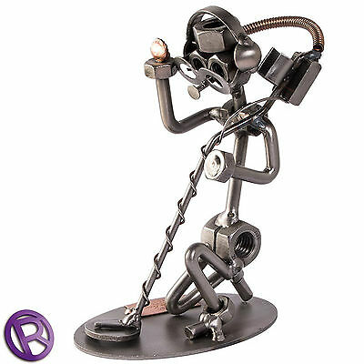 The Nutty Detectorist Reggie - Novelty Metal Detecting Ornament