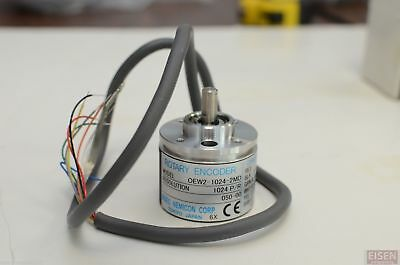NIDEC NEMICON Rotary Encoder OEW2-1024-2MD 050-00 DC5V 1024 pulse/rev