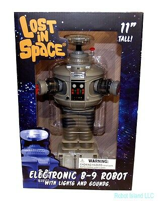 DIAMOND SELECT Lost in Space Robot B-9 Electronic Action Figure NEW - FREE SHIP