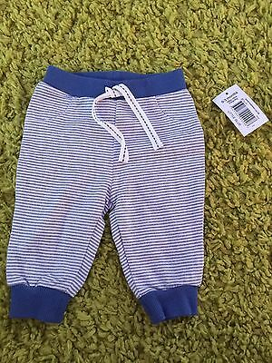 Bnwt Baby Boys Joggers 0-3 Months