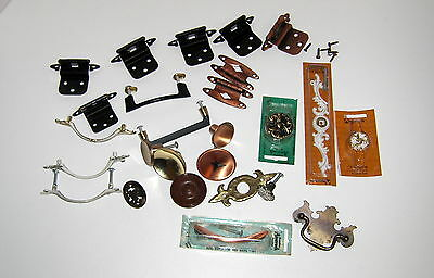 Antique Vintage Hardware Lot Of Furniture Cabinet Drawer Pull Knobs Mid Century
