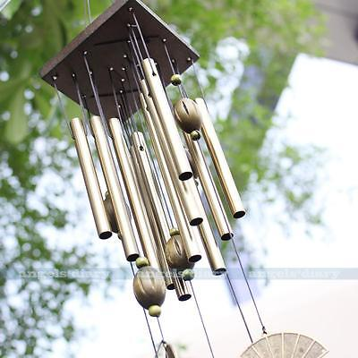 Amazing 12 Tubes Yard Garden Outdoor Living Wind Chimes Home Decor Windchime