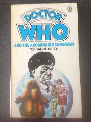 Doctor Who and the Abominable Snowmen Target Paperback 1982 reprint