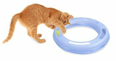 Petmate Small Crazy Circle Cat Toy Interactive Fantastic Feline Fun