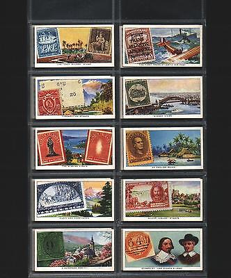 cigarette cards stamps rare and interesting 1939 full set