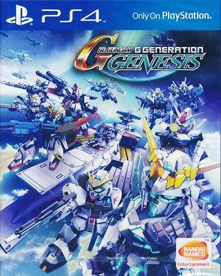 SD Gundam G Generation Genesis PS4 Game (English) Physical Disc version NEW