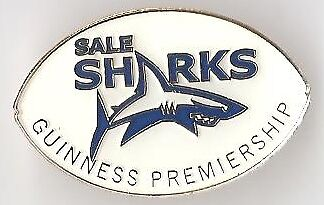 Guinness Pin Badge Guinness Rugby Premiership Sale Sharks