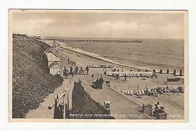 Great Britain: 1967; Beach and promeade, southwold, used. P+03