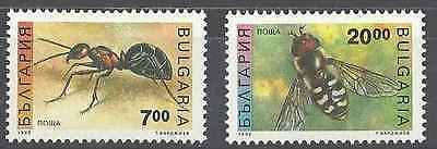 Timbres Insectes Bulgarie 3461/2 ** lot 4020