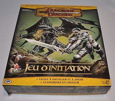DUNGEONS & DRAGONS Jeu d'Initiation French RPG GAME missing figures 2005