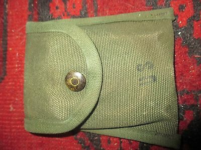 US Army Vietnam issue 1969 webbing compass field pouch