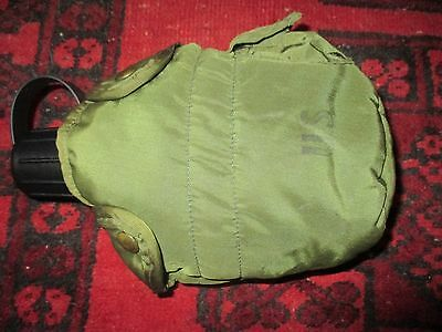 US Army Vietnam issue 1967 nylon water bottle & cover marked and dated 1974!