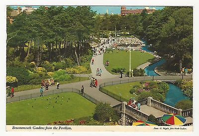 Great Britain: 1976; Bournemouth gardens from the pavilion, used. P+11