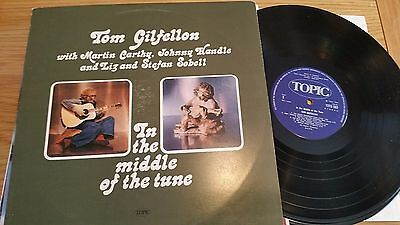 Tom Gillfellon With Martin Carthy - In The Middle Of The Tune  - Topic   -Lp