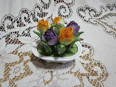 Vintage AYNSLEY FLOWER BOUQUET Made in England
