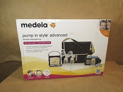 Medela Pump In Style Advanced Double Electric Breast Pump, with Metro Bag