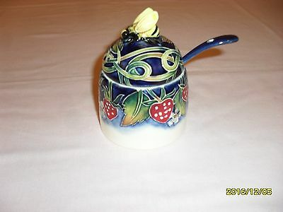 Honeypot Old Tuptou Ware, Jeanne Mcdougall Strawberries.