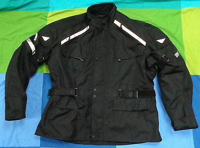 FirstGear motorcycle jacket waterproof with spine protection + pads men's XXL