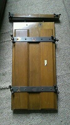 Old vintage trouser press CWS Bristol collectable tailor accessory wooden